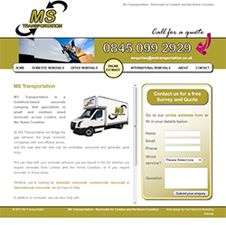 MS Transportation Web Design